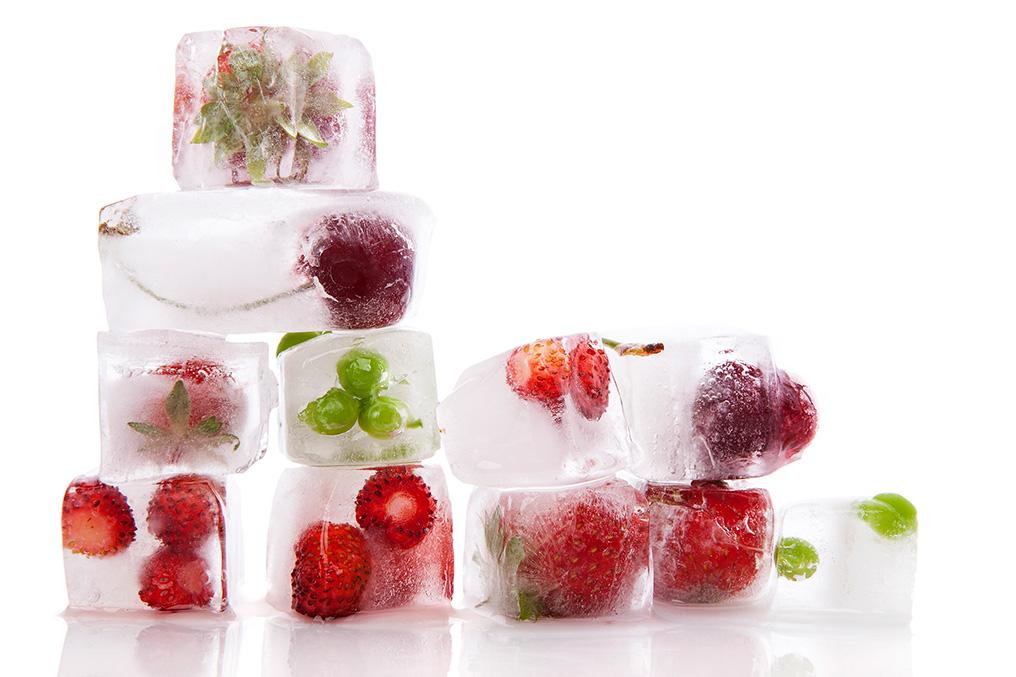 Фото холодильного склада для продуктов FRESH